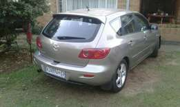 2005mazda3 1.6hatchback free accident evrything is working.R55nego