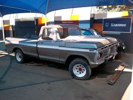 1975 Ford F250 4X2 Petrol - Rebuild Project Vehicle For Sale!
