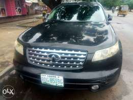 INFINITI FX35 JEEP Nigerian used for sale.