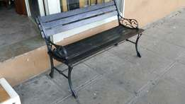 Garden bench cast iron