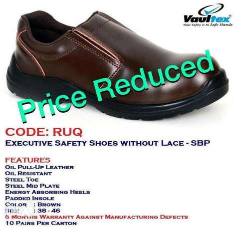 Executive Safety Shoes Without Lace