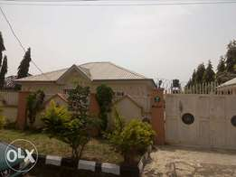 Empty 3bedroom flat with 2bedroom flat as BQ for sale at Lugbe FHA