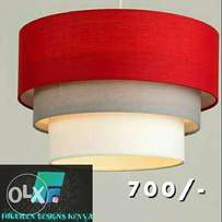 Affordable hanging ceiling lampshades.