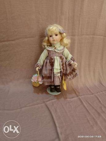 Collectible porcelain doll