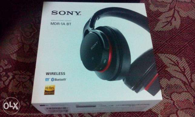 Sony MDR 1ABT wireless nfc best bass clear audio headphone