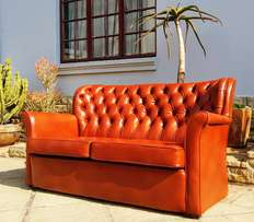 Retro Chesterfield couch