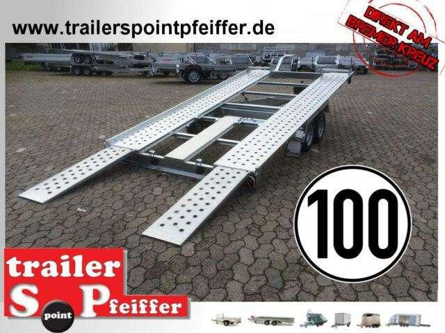 Pongratz L At 400 T K 3000 Kg Kipper Autotrailer 100 Km