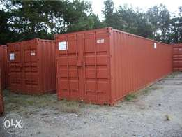 Twenty ft and fourty ft shipping containers