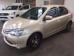 Ready for a new Owner, 2016 Toyota Etios 1.5 SX Hatchback