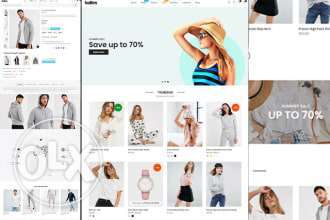 We will build ecommerce website wordpress blogs online store أبو هامور -  1