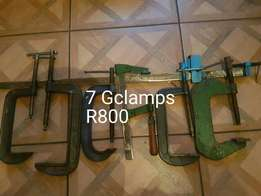 7 G clamps