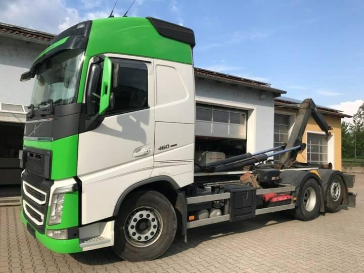 Volvo FH 460 6x2 Abrollkipper Multilift XR 21S Leder - 2015