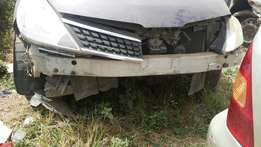 Nissan tiida salvage hutchback for sale