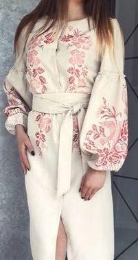 dc2b7b9536bf91 Вишиванка БОХО в ЭТНО стиле.Платье,вышиванка бисер, сукня ЗАГОТОВКА Київ -  зображення