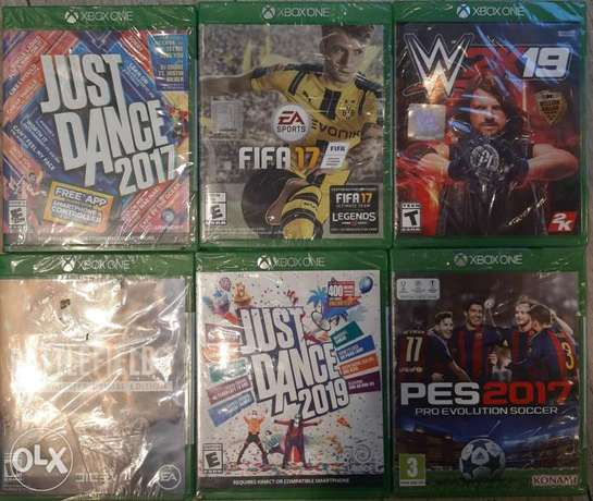 Xbox One Games new