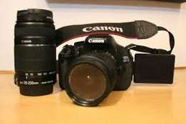 quick sale Canon EOS 600D with additional lenses, padded bag & tripod