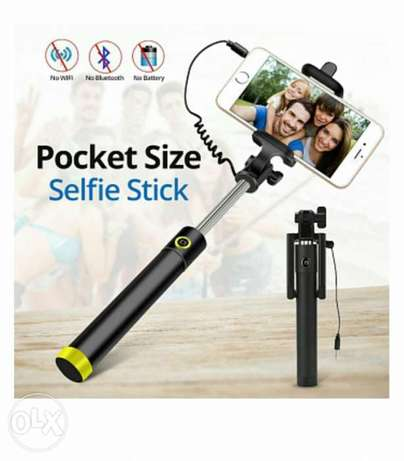 Pocket size selfie stick