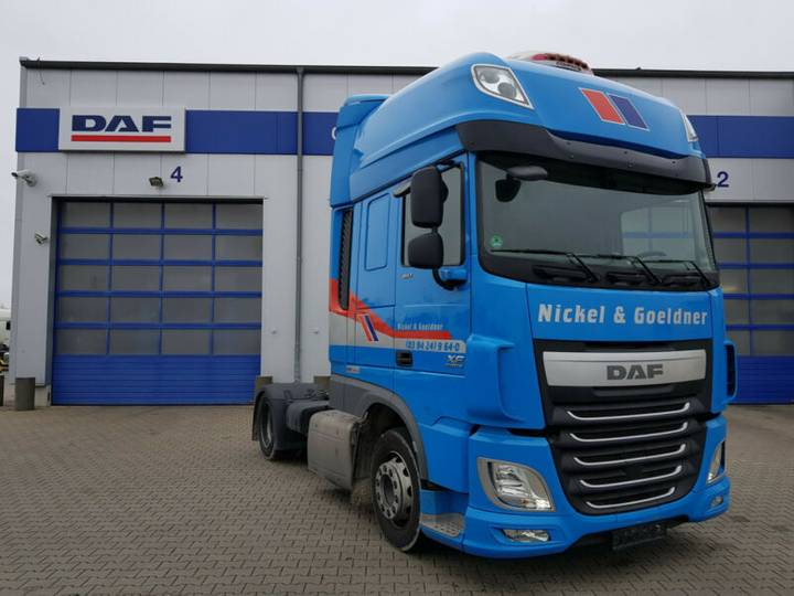 DAF FT XF 460 SSC, LD, AUT, MX-Brake, Prod. 10.2015 - 2015