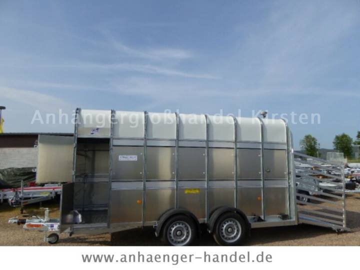 Ifor Williams TA 510 G Vieh 14 x 7´,426x178x213cm Rampe/Tür - 2019