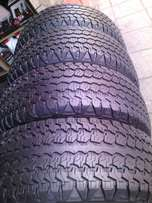245/75/R15C on special set of 4 tyres in a good condition for sale