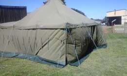 Used Army Tent Grade 1 5m x 5m