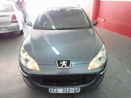 2007 Peugeot 407 SW, Color Blue, Price R80,000.