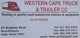 Buying and Selling Used Truck and Trailers