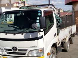 KCK,Year 2009 Toyota Dyna for Transport hire/sale 1.55m