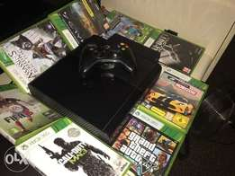 Xbox360 with 8games and 9months live gold membership