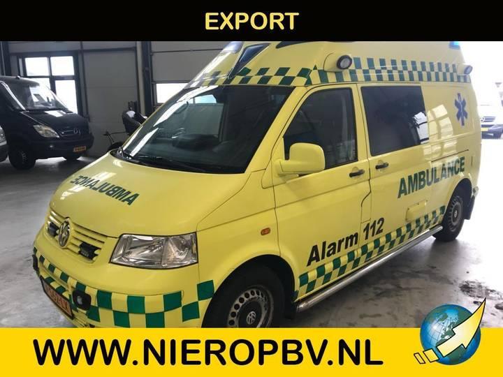 Volkswagen transporter 2.5 TDI 340 ambulance airco - 2007