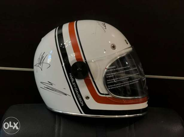 Bell Helmet New with F1 drivers Autographs