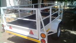 Trailer for sale. 2.4 x 1.3 x .750 & 4m x 1.8 x .750 (R 29 000)
