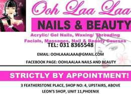 Make -up with eyelashes, Hairstyling,Nails and toes and more