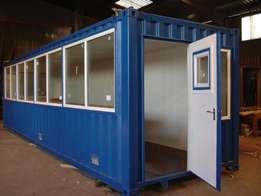 Situable ,Converted and good Conditions Storage 12m and 6m Containers