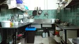for sale : complete range of catering equipment only 5 months old