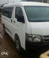 Clean used 2010 toyota haice bus