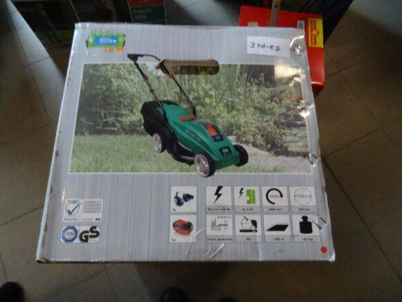 Clipper güde cordless  on battery lawn mower for sale by auction