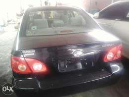 Direct Tokunbo Toyota Corolla 2006 model for sale. Lagos Cleared