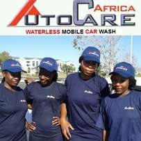 Water-less Mobile Car wash and Valet Dealership