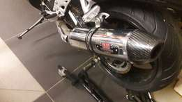 Yoshimura dual R77 slip ons for sale PRICE DROPPED