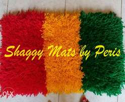 Learn how to make shaggy mats