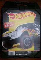 Hot Wheels carry case.