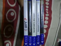 PS4 Games for Sale... Excellent condition