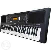 By Yamaha PSR E363 Touch-Sensitive Portable Keyboard With Adapter