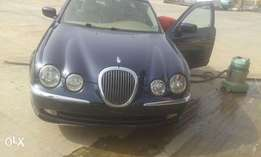 Clean Blue Jaguar SType 2003 Almost New At Utako