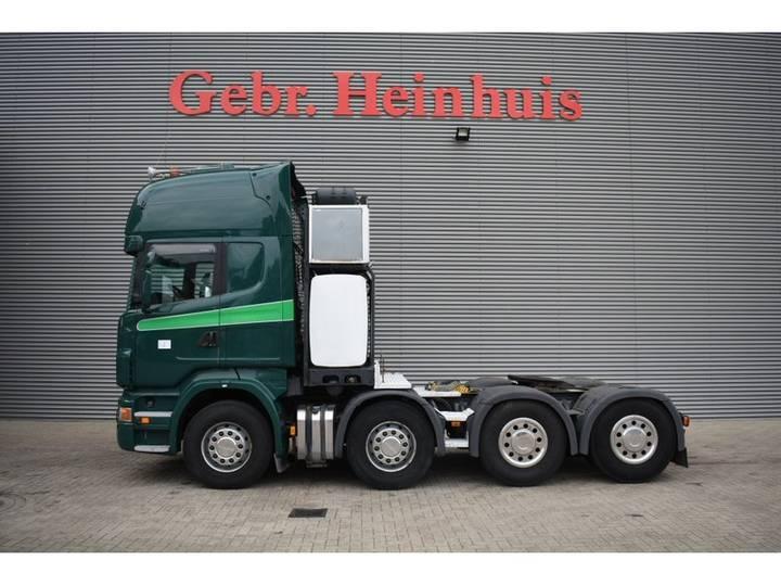 Scania R560 8x4 V8 Topline Euro 5 Heavy Duty tractor! - 2008