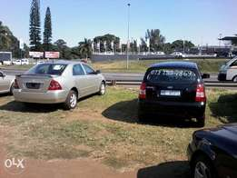 Toyota corolla 2004 with air-con