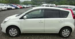 New import Nissan Note Pearl white kcm