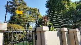 Electric fence and cctv surveillance