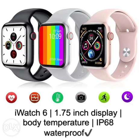 W26 plus Smart watch 1.75 Inch Full Touch Screen Series 6